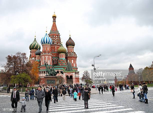 St. Basil Cathedral on Red Square