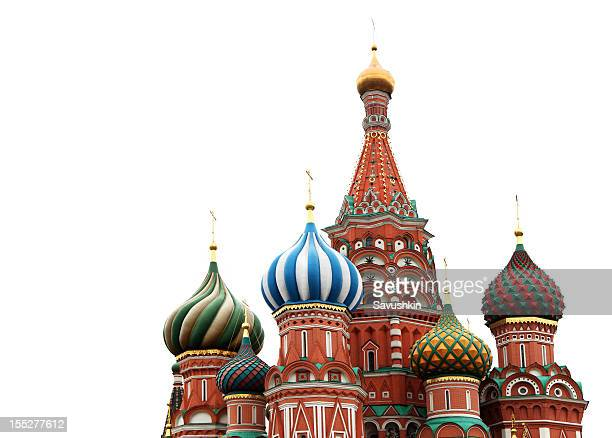 st. basil cathedral - russian culture stock pictures, royalty-free photos & images