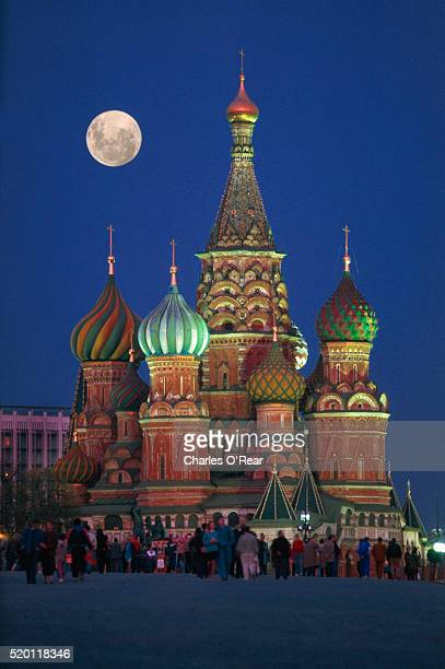 St. Basil's Cathedral at Night