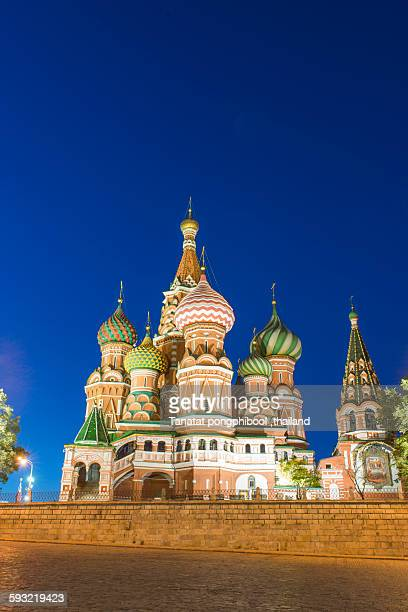 St. Basil's cathedral at Red Square, Moscow