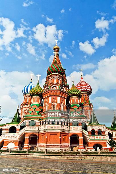 St. Basils Cathedral in Moscow on Red Square