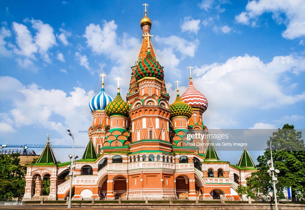 St Basil's Cathedral, in Red Square, Moscow, Russia : Stock-Foto