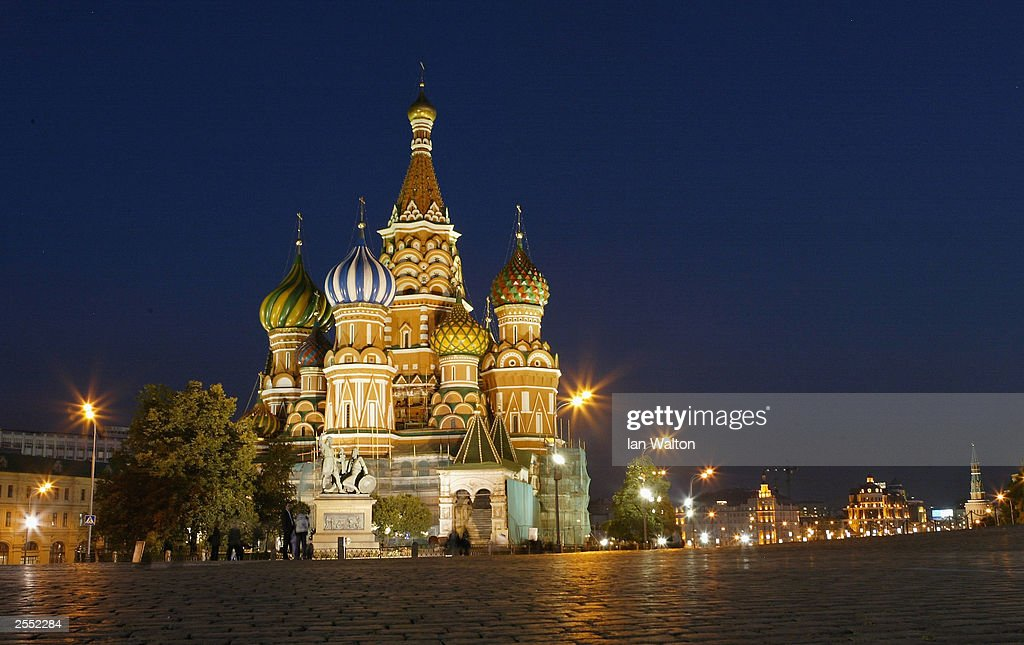 St Basil's Cathedral : News Photo