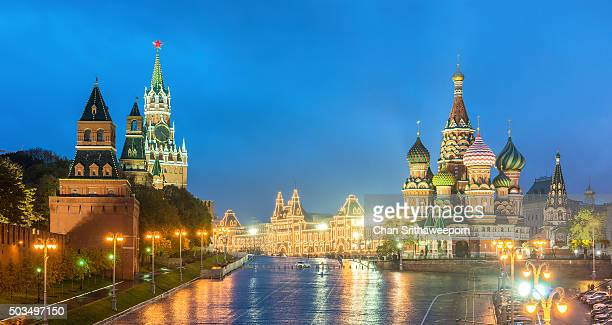 St. Basils cathedral on Red Square, Moscow