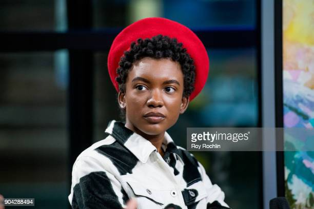St Beauty meber Alex Belle visits Build Series to discuss 'Running to the Sun' at Build Studio on January 12 2018 in New York City