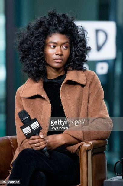 St Beauty meber Isis Valentino visits Build Series to discuss 'Running to the Sun' at Build Studio on January 12 2018 in New York City