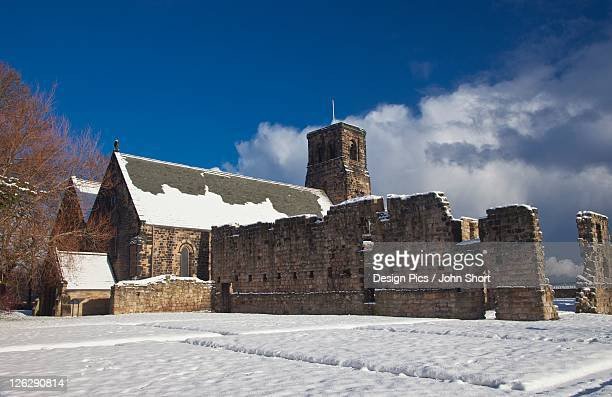 st. bede's monastery - tyne and wear stock pictures, royalty-free photos & images