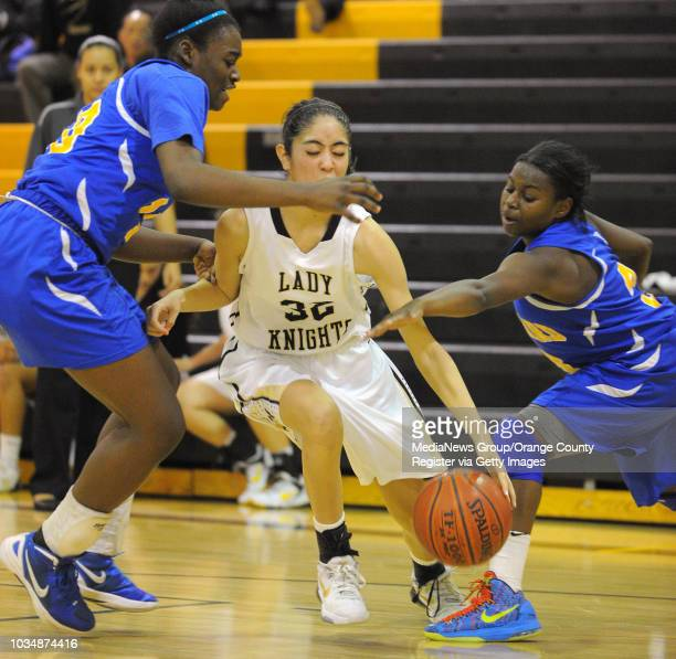 Scott Varley Los Angeles Newspaper Group St Bernard girls basketball defeated Bishop Montgomery 8271 in a Del Rey League matchup at BM BM's Kate...