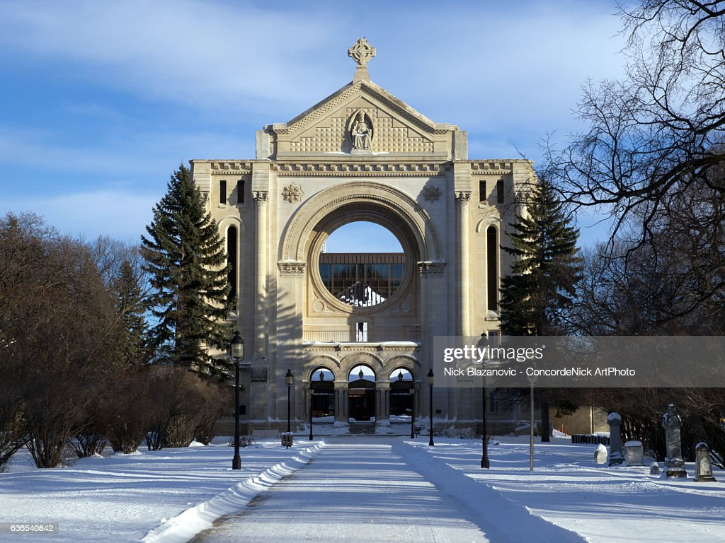 St. Boniface Cathedral : Stock Photo