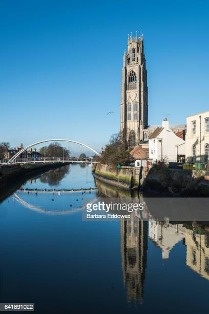 st botolph's church, boston, lincolnshire - boston lincolnshire stock photos and pictures
