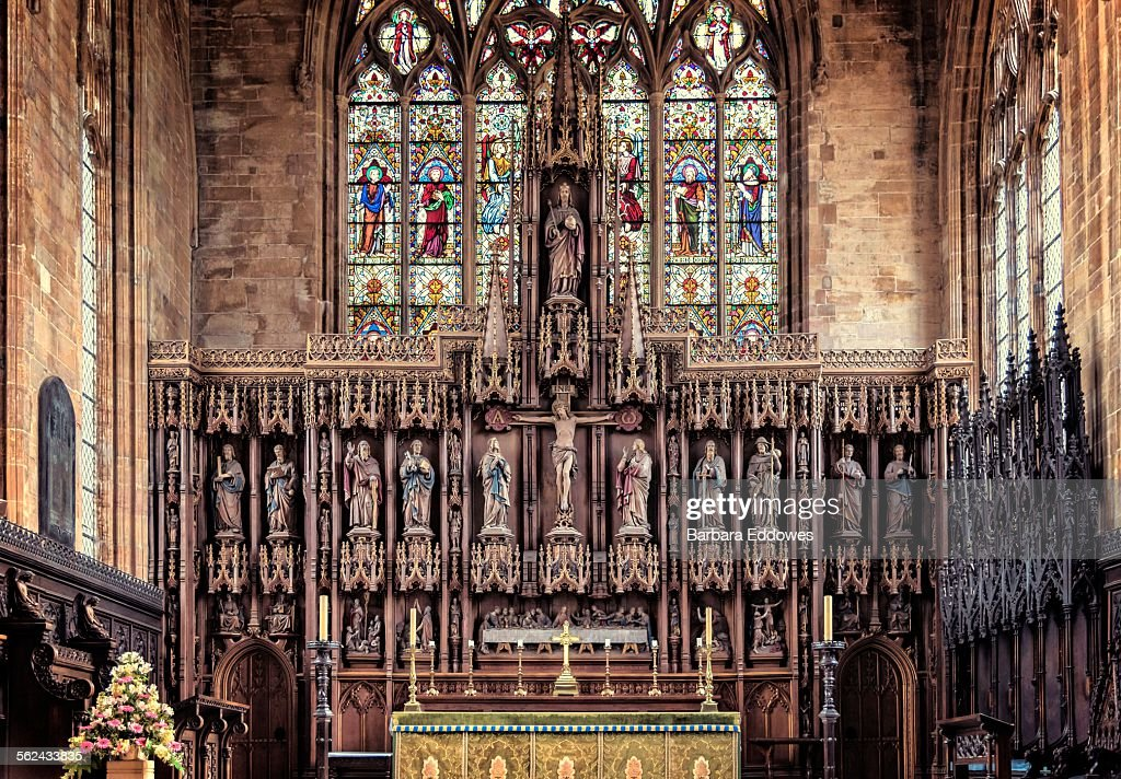 St Botolph's Church : Stock Photo