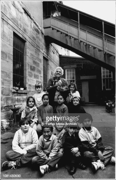St Bridges Catholic School in Kent St Millers Point will close today and the schools 11 students will be placed in other schoolsSister Mary Joseph...