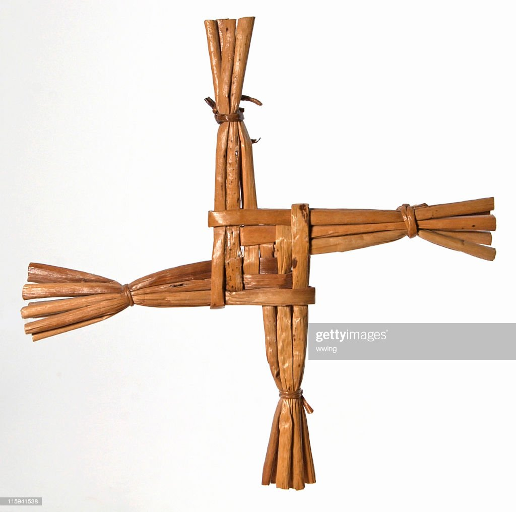 St. Brigit's Cross : Stock Photo