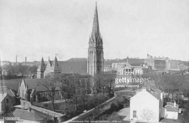 St Brycedale Free Church Kirkaldy Fife Scotland circa 1900