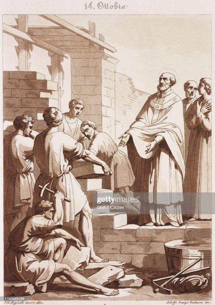 Les martyrs de l'Eglise primitive - À lire ! Merci mon Dieu de pouvoir encore professer notre foi ♥ - Page 2 St-callistus-pope-and-martyr-calendar-of-saints-october-14-engraving-picture-id1150985469