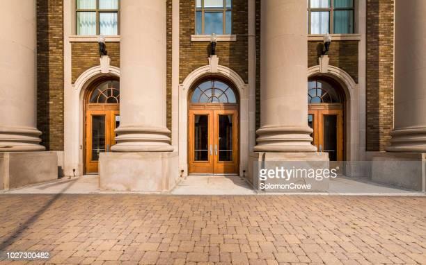 st. catharines collegiate institute und berufsschule - leeds stock-fotos und bilder
