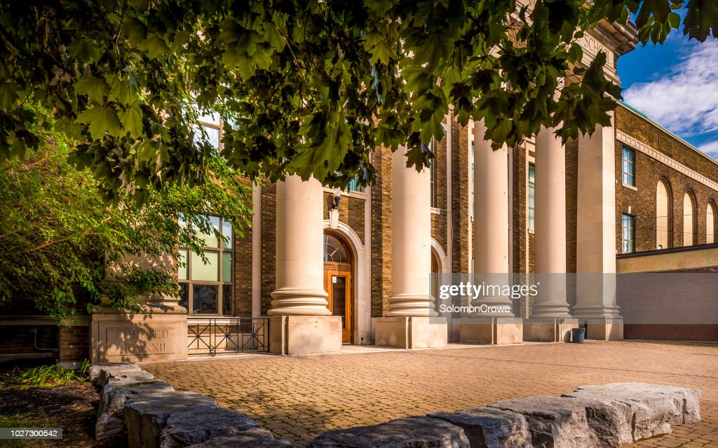 St. Catharines Collegiate Institute and Vocational School : Stock Photo