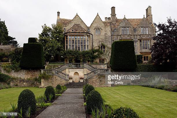 St Catherine's Court the UK home of actress Jane Seymour near Bath on August 19 2007 in Somerset United Kingdom Residents in the picturesque St...