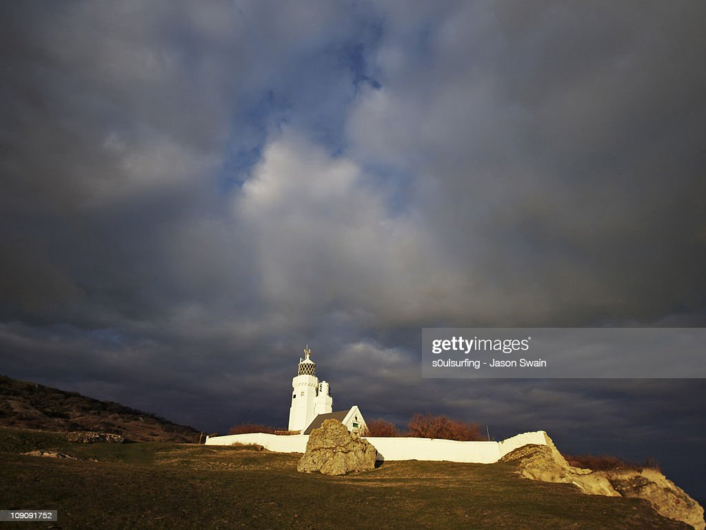 St Catherine's Lighthouse : Stock Photo