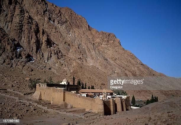 St Catherines Monastery in the Sinai Peninsula Egypt