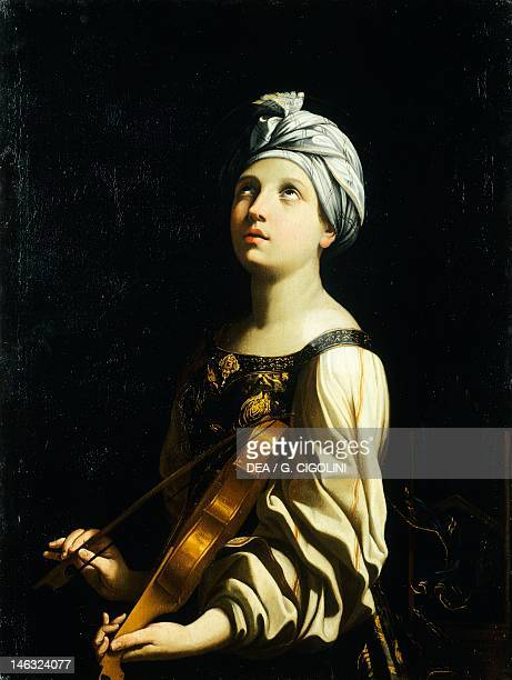 St Cecilia 16061607 by Guido Reni