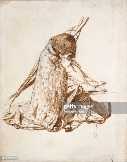 St Cecilia circa 1850s Artist Dante Gabriel Rossetti