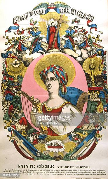 St Cecilia or Cecile legendary Roman martyr 19th century In 1584 Saint Cecilia became patron saint of music when selected by the Academy of Music in...