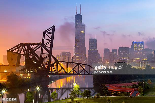 St. Charles air line bridge, Chicago, Illinois USA