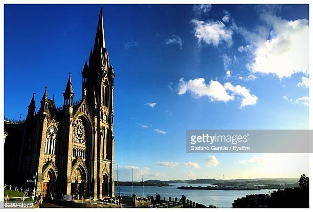 St Colman Cathedral Against Blue Sky