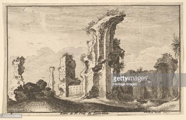 St Croix de Jerusalem 1650 Artist Wenceslaus Hollar