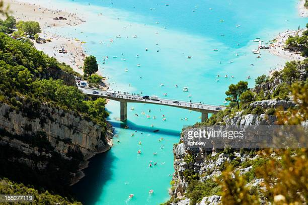 St Croix lake and Verdon River in France