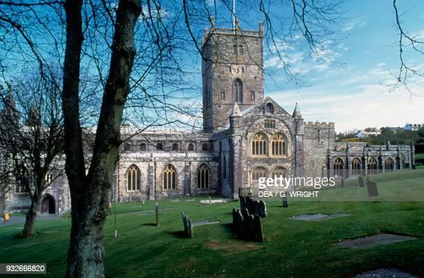 St David's Cathedral Saint David's Wales United Kingdom 6th century