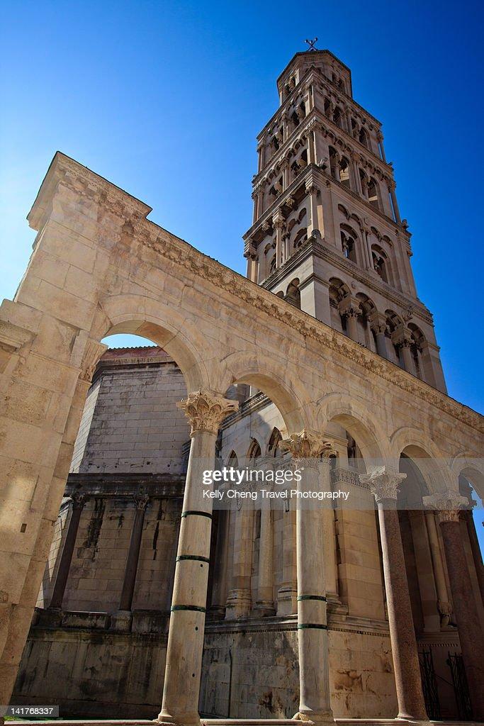 St. Dominus' campanile : Stock Photo