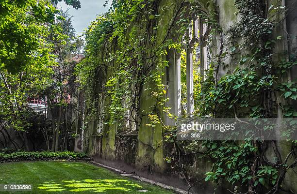 st. dunstan in the east - east stock photos and pictures