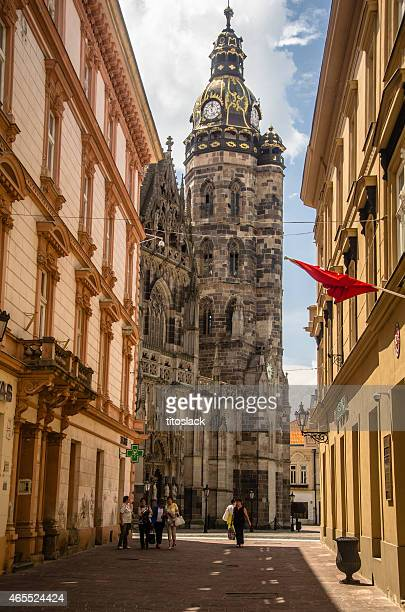 st. elisabeth cathedral - kosice stock photos and pictures
