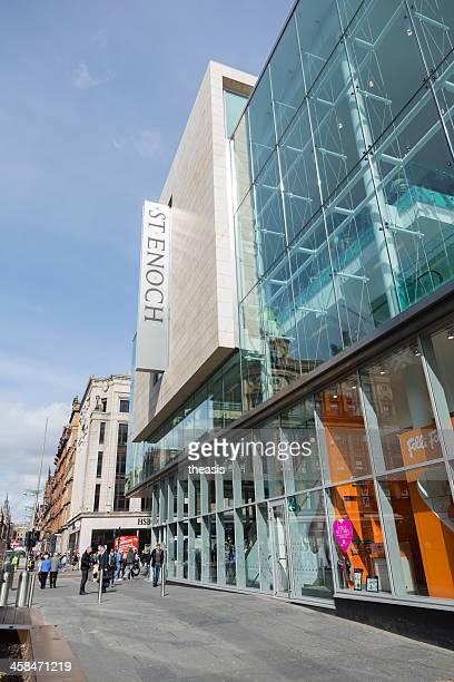 st enoch shopping centre, glasgow - theasis stockfoto's en -beelden