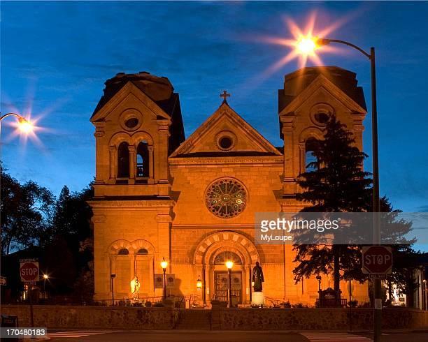 St Frances Cathedral Santa Fe New Mexico