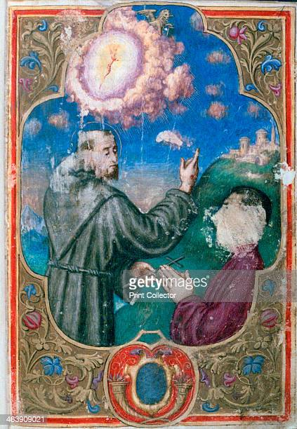 St Francis and the Doge Francesco Dona Order of the Doge 1548 St Francis of Assisi founder of the Franciscan Order of monks with the Doge of Venice...