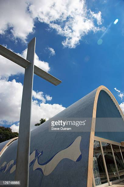 st francis of assisi church, brazil. - belo horizonte stock pictures, royalty-free photos & images