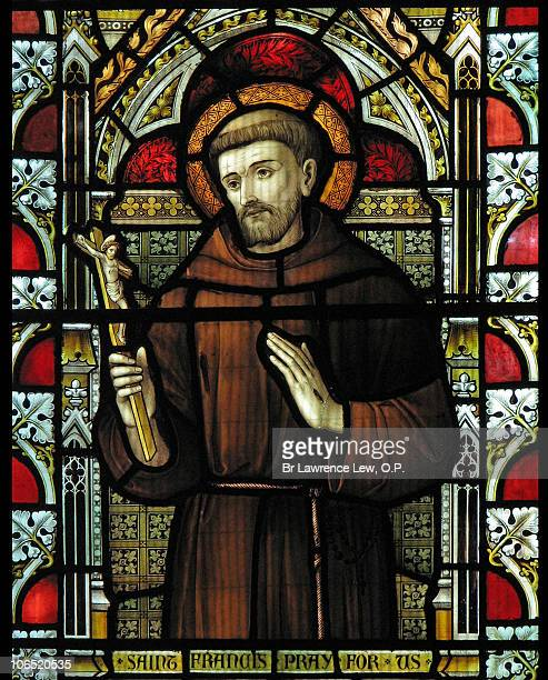st francis of assisi - st. francis of assisi stock photos and pictures