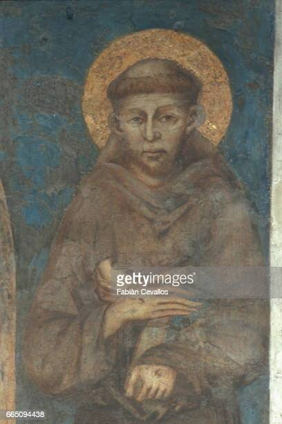 St Franics of Assisi by Cimabue considered as the most faithful representation of the saint