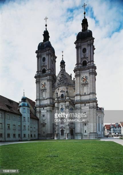 St Gallen's abbey church Switzerland 18th century