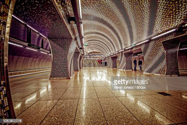 M4 St. Gellert Square metro station in style of 1001 nights