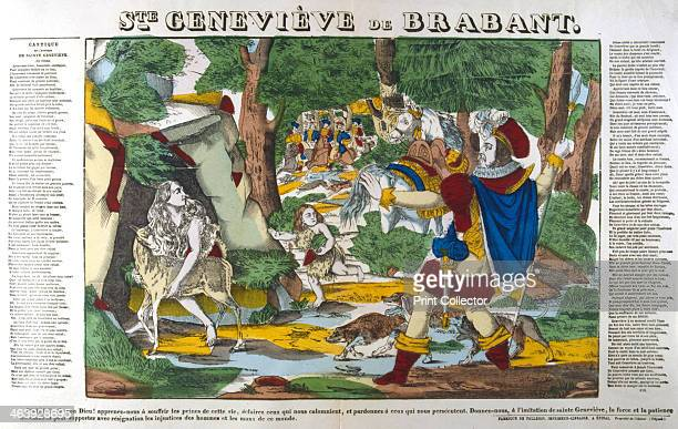 St Genevieve of Brabant 19th century The medieval legend of Genevieve of Brabant tells how she was wrongly accused by her husband the palatine...