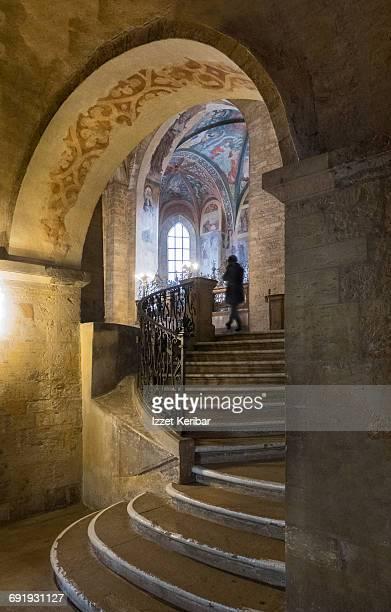 St George basilica interior  near Prague castle