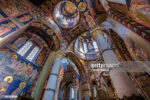 st george church in topola - belgrade serbia stock pictures, royalty-free photos & images