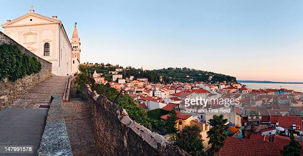 st george church - slovenia stock pictures, royalty-free photos & images