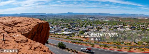 st george city in utah  usa - st. george utah stock pictures, royalty-free photos & images