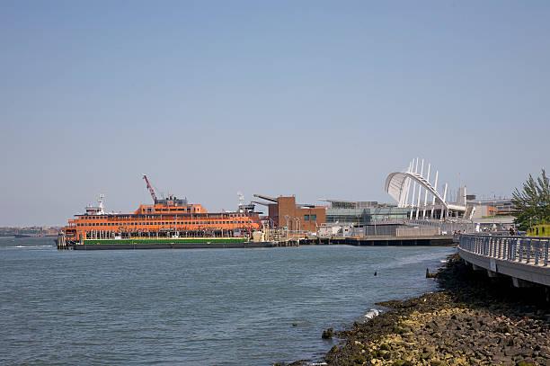 St. George Ferry Terminal and Saten Island ferry, Staten Island, New York