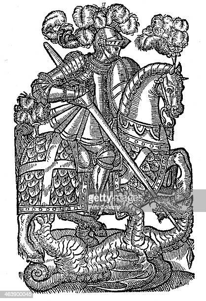 St George killing the dragon 1598 Perhaps a Roman centurion beheaded near modern Tel Aviv St George is the patron saint of England Catalonia Genoa...